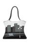 Фото 1 Кожаная женская  сумка №2 Белые ночи в городе в интернет-магазине Unique U дизайнера Елены Юдкевич