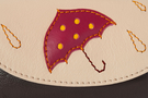 3 Кожаная ключница №1, Дождь в городе,в Интернет-магазине UNIQUE U дизайнера Елены Юдкевич.