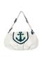 Фото 1 Кожаная сумка №38, Морячок, белая в интернет-магазине Unique U