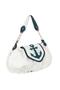 Фото 2 Кожаная сумка №38, Морячок, белая в интернет-магазине Unique U