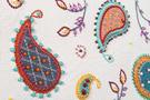 Фото 4 Кожаная женская  сумка клатч  №43 Пейсли, серая в интернет-магазине Unique U дизайнера Елены Юдкевич