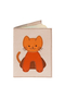 Кожаная обложка на паспорт №2, Котенок