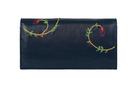 Фото 5 кожаный КОШЕЛЕК №1, ПЕЙСЛИ синий  в интернет-магазине Unique U