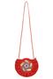 Фото 2 Кожаная сумка №44, Пейли красная  в интернет-магазине Unique U