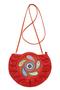 Фото 3 Кожаная сумка №44, Пейли красная  в интернет-магазине Unique U