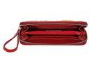 Фото 5 Кожаный женский  кошелёк 2 Пейсли, красный в Интернет-магазине UNIQUE U