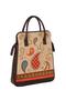 Фото 2 Кожаная женская сумка портфель №3, Пейли коричневый  в интернет-магазине Unique U