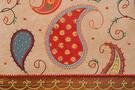 Фото 3 Кожаная женская сумка портфель №3, Пейли коричневый  в интернет-магазине Unique U