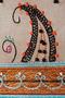 Фото 3 Кожаная женская сумка №3, Пейсли серая в Интернет-магазине UNIQUE U