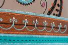 Фото 5 Кожаная женская сумка №3, Пейсли серая в Интернет-магазине UNIQUE U