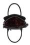 Фото 7 Кожаная женская сумка №3, Пейсли серая в Интернет-магазине UNIQUE U