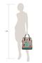 Фото 8 Кожаная женская сумка №3, Пейсли серая в Интернет-магазине UNIQUE U