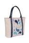 Фото 2 Кожаная женская сумка №42, Пейсли, серая в Интернет-магазине UNIQUE U