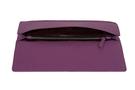 Фото 6 Кожаная женская  сумка клатч  №43 Сакура, фиолетовая в интернет-магазине Unique U дизайнера Елены Юдкевич