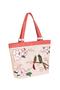 Фото 2 Кожаная женская сумка №46 Японские птички, розовый перламутр в интернет-магазине Unique U дизайнера Елены Юдкевич