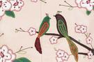 Фото 4 Кожаная женская сумка №46 Японские птички, розовый перламутр в интернет-магазине Unique U дизайнера Елены Юдкевич