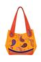 Фото 2 Кожаная женская сумка №33 Пейсли оранжевая  в интернет-магазине Unique U дизайнера Елены Юдкевич
