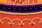 Фото 8 Кожаная женская сумка №33 Пейсли оранжевая  в интернет-магазине Unique U дизайнера Елены Юдкевич