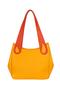 Фото 11 Кожаная женская сумка №33 Пейсли оранжевая  в интернет-магазине Unique U дизайнера Елены Юдкевич