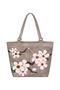 Фото 1 Кожаная женская сумка №46 Сакура, бронзовый перламутр в интернет-магазине Unique U дизайнера Елены Юдкевич