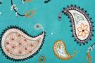 Фото 3 Кожаный женский КЛАТЧ М.№43, ПЕЙСЛИ бирюзовый в Интернет-магазине UNIQUE U