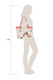 Фото 6 Кожаная женская сумка №46 Японские птички, розовый перламутр в интернет-магазине Unique U дизайнера Елены Юдкевич