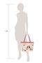 Фото 7 Кожаная женская сумка №46 Японские птички, розовый перламутр в интернет-магазине Unique U дизайнера Елены Юдкевич