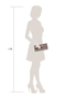 Фото 2 Кожаная женская  сумка клатч  №43 Сакура, бронзовая в интернет-магазине Unique U дизайнера Елены Юдкевич