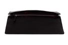 Фото 7 Кожаная женская  сумка клатч  №43 Пейсли, чёрная в интернет-магазине Unique U дизайнера Елены Юдкевич