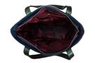 Фото 5 Кожаная женская сумка №42 Императорская сакура, синяя в интернет-магазине Unique U дизайнера Елены Юдкевич