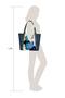 Фото 6 Кожаная женская сумка №42 Императорская сакура, синяя в интернет-магазине Unique U дизайнера Елены Юдкевич