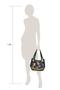 Фото 9 Кожаная женская сумка №33, Пейсли синяя в Интернет-магазине UNIQUE U