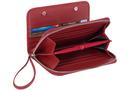 Фото 4 КОЖАНый кошелёк-органайзер, Барокко красный в Интернет-магазине UNIQUE U