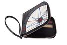 Фото 2 КОЖАНОЕ мужское портмоне компас, чёрный в Интернет-магазине UNIQUE U