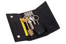 3 Фото 1 Кожаная мужская прямоугольная ключница чёрного цвета Перец №3 в Интернет-магазине UNIQUE U