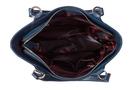 Фото 5 Кожаная женская сумка №46, Императорская сакура синяя в Интернет-магазине UNIQUE U