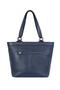 Фото 6 Кожаная женская сумка №46, Императорская сакура синяя в Интернет-магазине UNIQUE U
