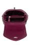 Фото 4 Кожаная женская сумка №31, Пейсли, малиновая в Интернет-магазине UNIQUE U