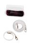 Фото 6 Кожаная женская сумка белая Пейсли №29,в Интернет-магазине UNIQUE U дизайнера Елены Юдкевич