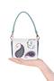 """Фото 2 Кожаная женская сумка №29, """"Пейсли"""" синяя в Интернет-магазине UNIQUE U"""