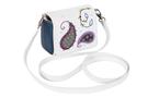 """Фото 3 Кожаная женская сумка №29, """"Пейсли"""" синяя в Интернет-магазине UNIQUE U"""