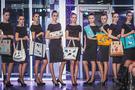 Фото 9 Кожаная женская  сумка клатч  №43 Пейсли, серая в интернет-магазине Unique U дизайнера Елены Юдкевич