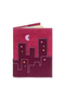 Кожаная обложка  на паспорт №1, ГОРОД