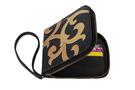Фото 2 Кожаный кошелёк-портмоне, Барокко чёрный в Интернет-магазине UNIQUE U