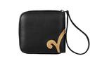 Фото 4 Кожаный кошелёк-портмоне, Барокко чёрный в Интернет-магазине UNIQUE U