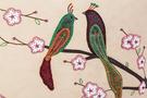 Фото 2 Сумка женская кожаная №2 Японские птички беж в Интернет-магазине UNIQUE U