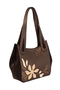 Кожаная женская сумка №33 Игра теней коричневая  в интернет-магазине Unique U дизайнера Елены Юдкевич Фото 1