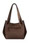 Кожаная женская сумка №33 Игра теней коричневая  в интернет-магазине Unique U дизайнера Елены Юдкевич Фото 4