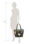 Фото 7 Кожаная женская сумка №46 Пейсли, синяя в интернет-магазине Unique U дизайнера Елены Юдкевич