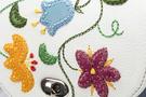Фото 3 Кожаная сумка №31, Вальс цветов, голубой, Интернет-магазин Юник
